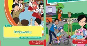 Buku Guru dan Buku Siswa Kelas 4 SD K13 Edisi Revisi 2018
