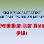 Kisi-kisi Soal Pretest Pendidikan Luar Biasa PLB PPG Dalam Jabatan 2019